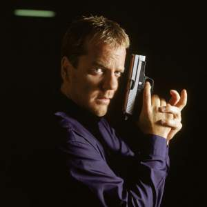 Jack Bauer, played in the TV show by Keifer Sutherland