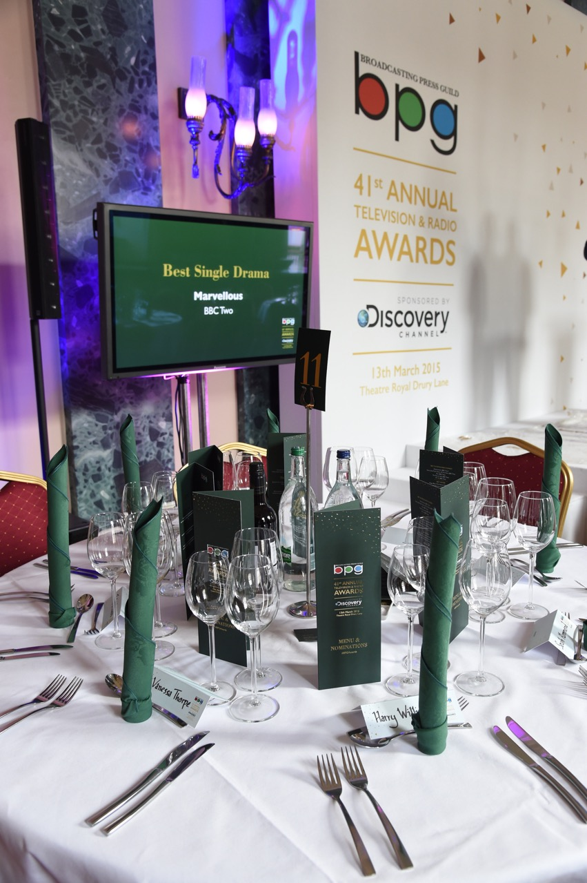 BPG Awards Lunch March 13th 2015
