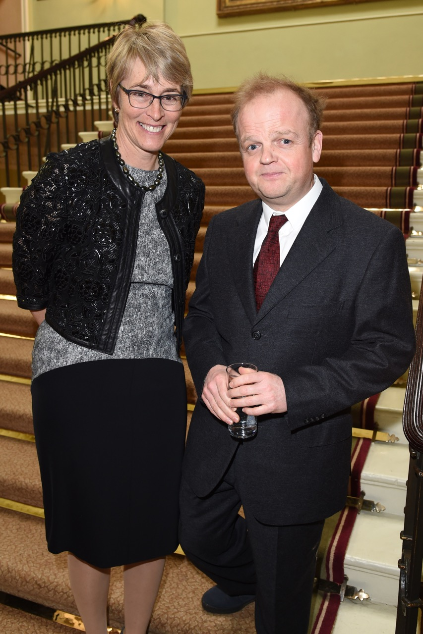 Kate with Toby Jones
