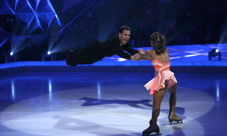 ITV shows such as Dancing on Ice have lucrative apps – some 200,000 people downloaded one during the 2011 series. Photograph: Ken McKay/Rex Features