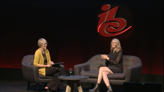 Kate interviews Kelly Day, President, Viacom Digital Studios at IBC 2018