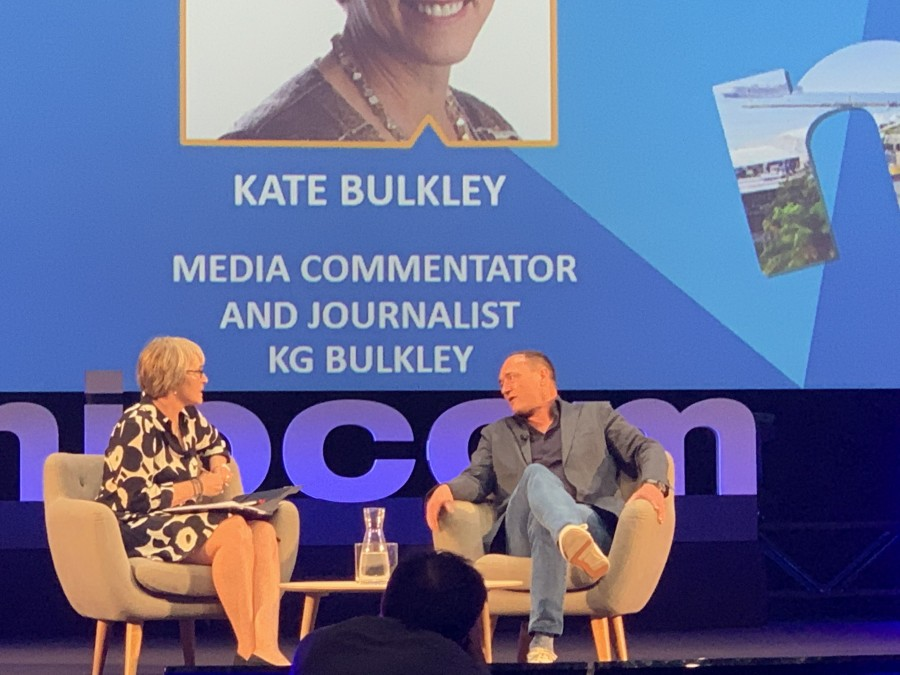 Kate interviews Max Conze 