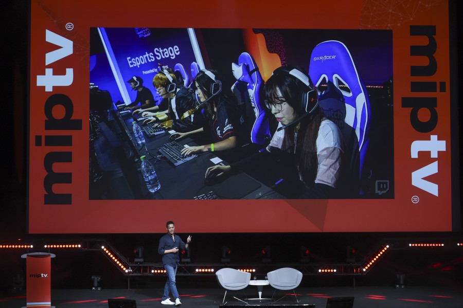 Michael Aaragon of Twitch MIPTV-2019