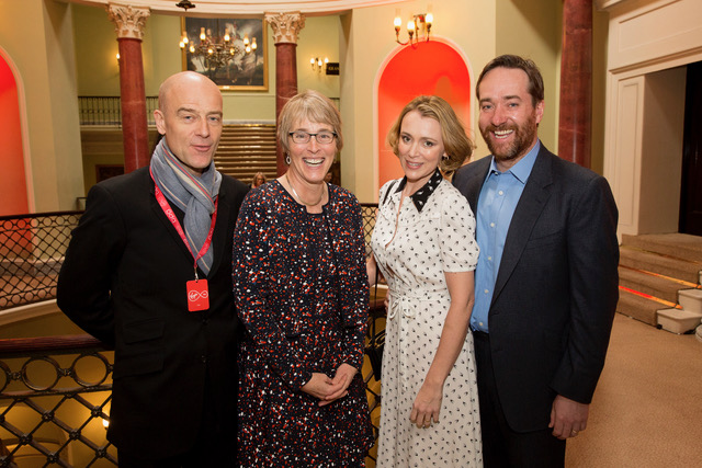 Pip Torrens, Kate, Keeley Hawes, actress and Matthew Macfadyen