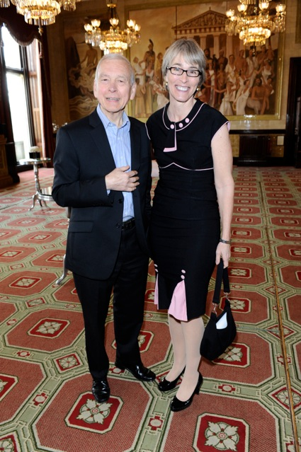 Kate with BBC Radio 4's John Humphrys winner of the Harvey Lee Award