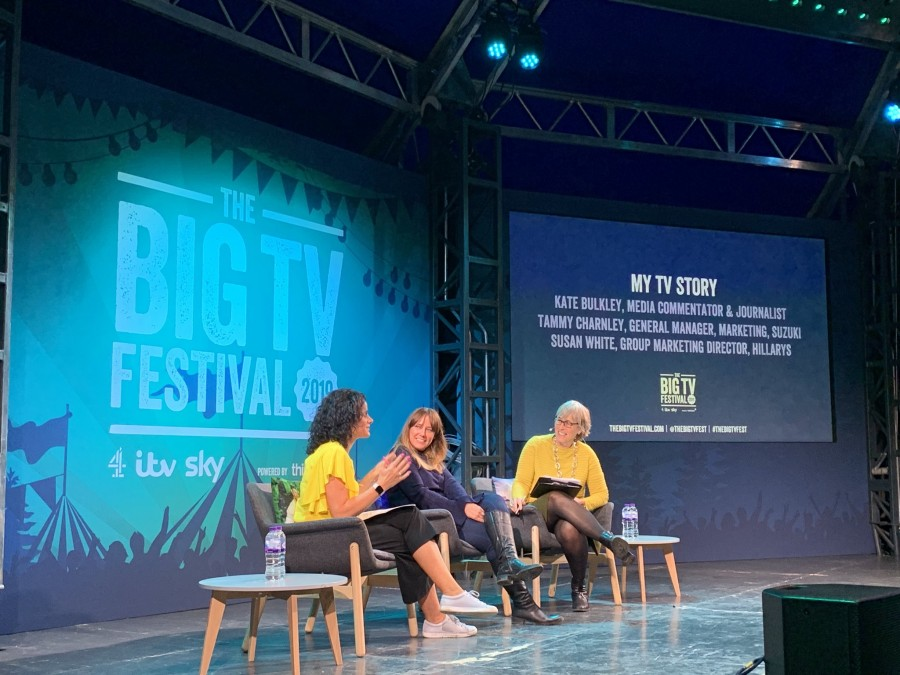 The Big TV Fest panel, March 7 2019