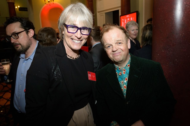Kate and Toby Jones, actor, Detectorists