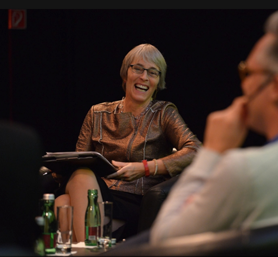 Kate moderated the Changing the Picture conference where #Tech & #Storytelling intertwine in Berlin