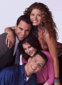 The stars of Will and Grace