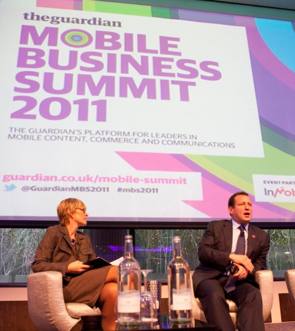 Kate interviews Ed Vaizey, Minister for Culture Communications and Creative Industries at the Guardian Mobile Business Summit 2011