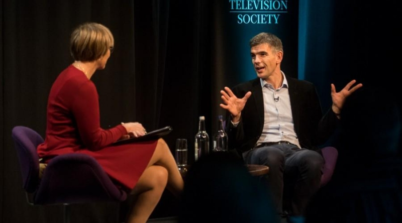 Kate Bulkley In Conversation with Matt Brittin (Credit: Paul Hampartsoumian)