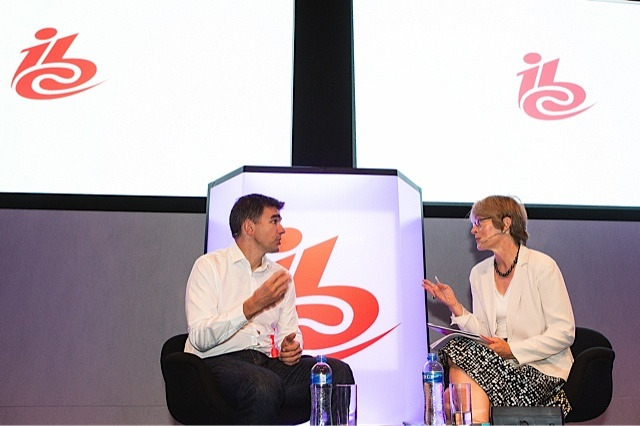 Kate interviews Matt Brittin