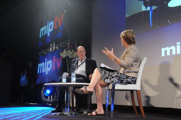 Kate and Miles Young at MipTV 2011