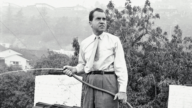 Richard Nixon Pic (Allan Grant/Time Life Pictures/Getty Images)