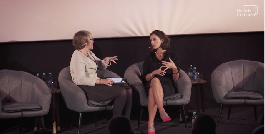 Kate interviewed the CEO of Channel 4 Alex Mahon at Outside the Box, hosted by Freeview and Digital UK on Nov 5th 2019