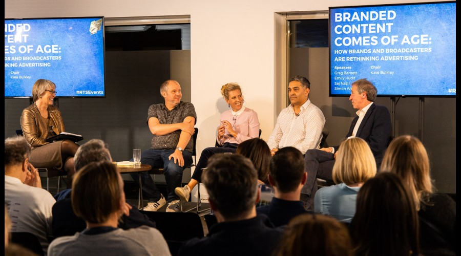 Kate Bulkley, Greg Barnett, Emily Hudd, Saj Nazir and Simon Wells (Picture Credit: Paul Hampartsoumian)