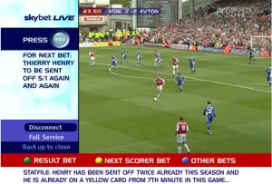 Sky's interactive betting