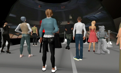 people in Second life